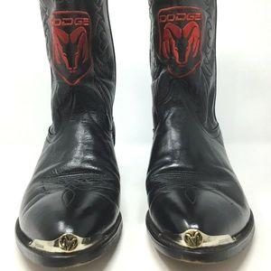 Laredo~Dodge Ram~Leather Boots~Men's~Metal Toe
